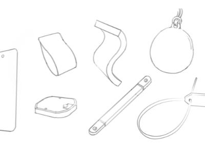 超高频UHF RFID标签常见的8种形态与应用