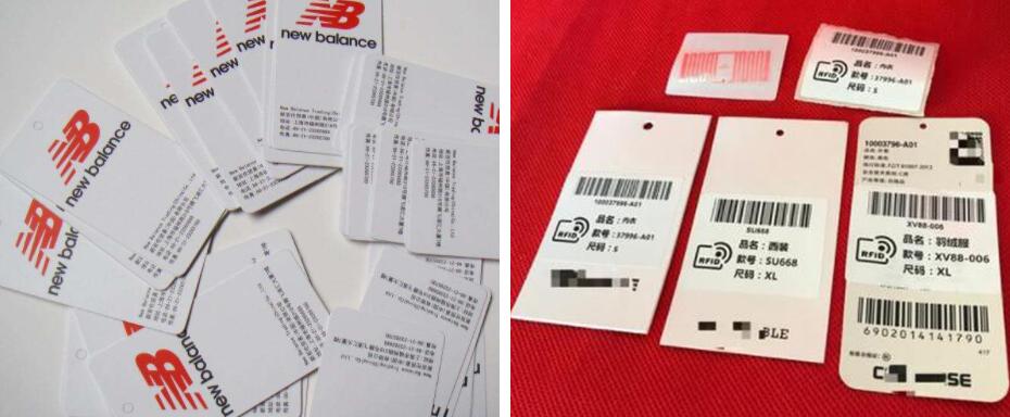 RFID服装吊牌电子标签