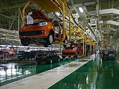 RFID汽车生产管理