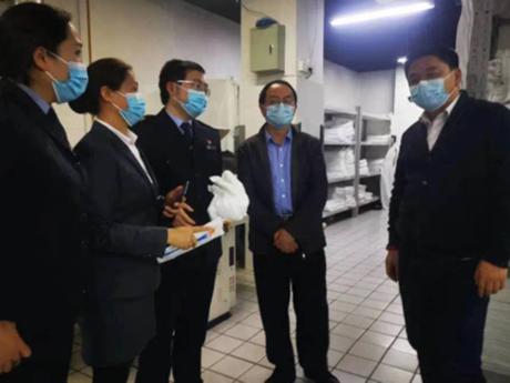 「兆麟RFID」助理南岸智慧卫监对酒店卫生消毒数据跟踪